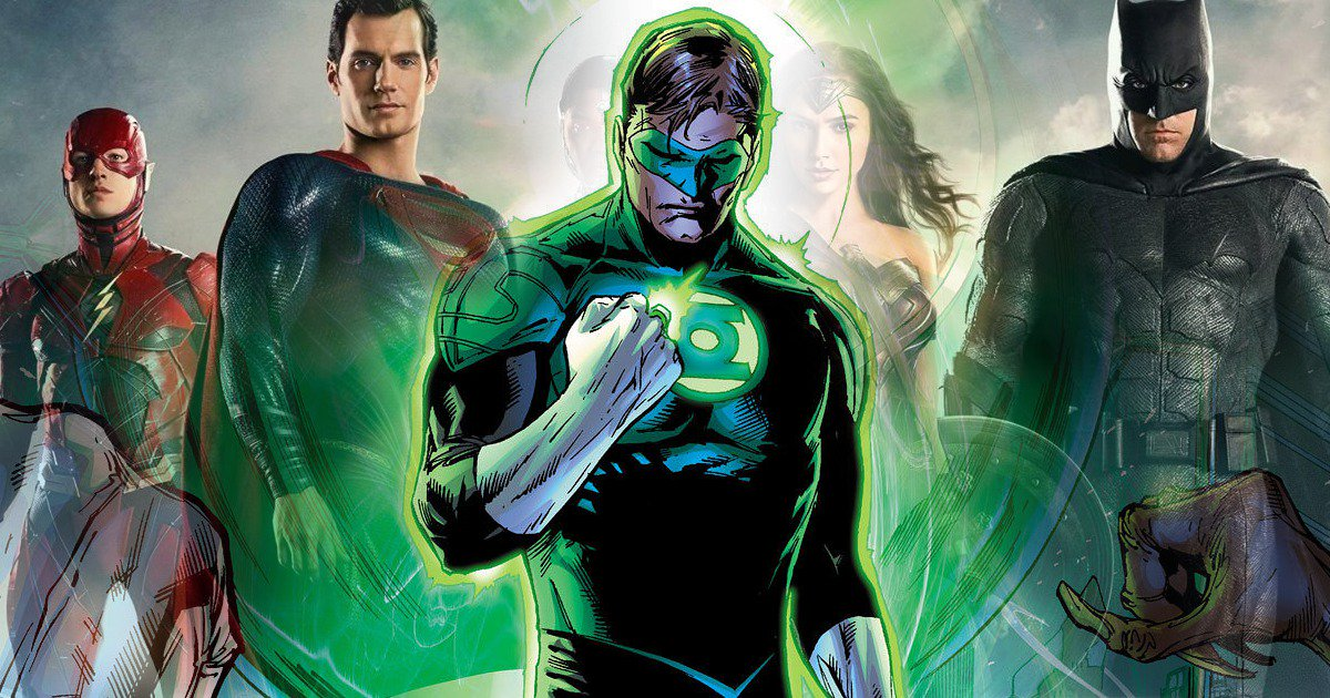 fans see green lantern in justice league image cosmic book news