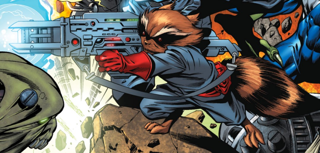 The Avengers: Infinity War Features Goofy Rocket Raccoon