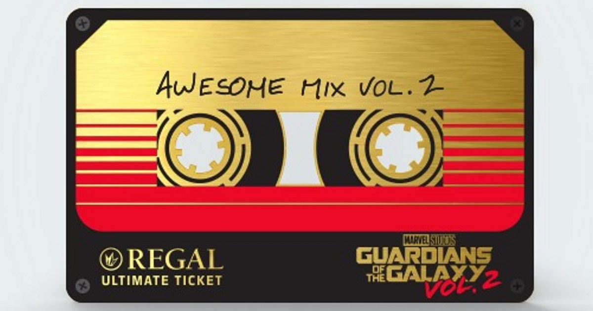 Guardians of the Galaxy 2 Ultimate Ticket Announced