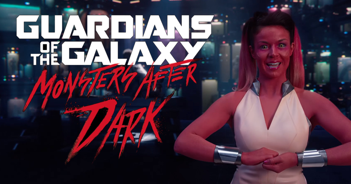 Guardians of the Galaxy - Monsters After Dark Halloween Promo ...