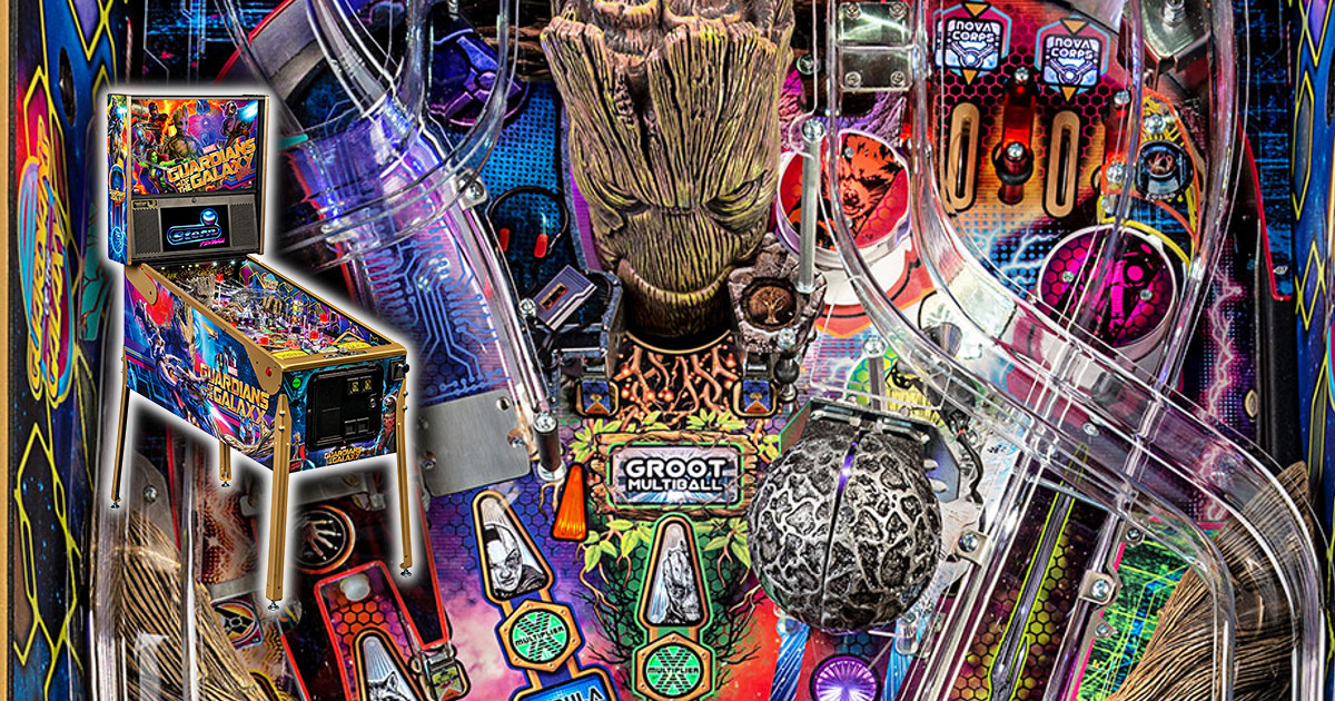 Guardians of the Galaxy Pinball