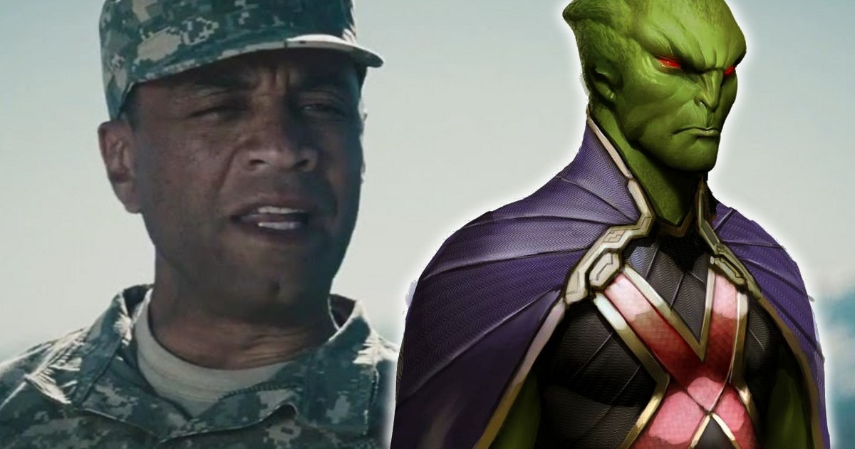 Is Harry Lennix's General Swanwick Martian Manhunter?