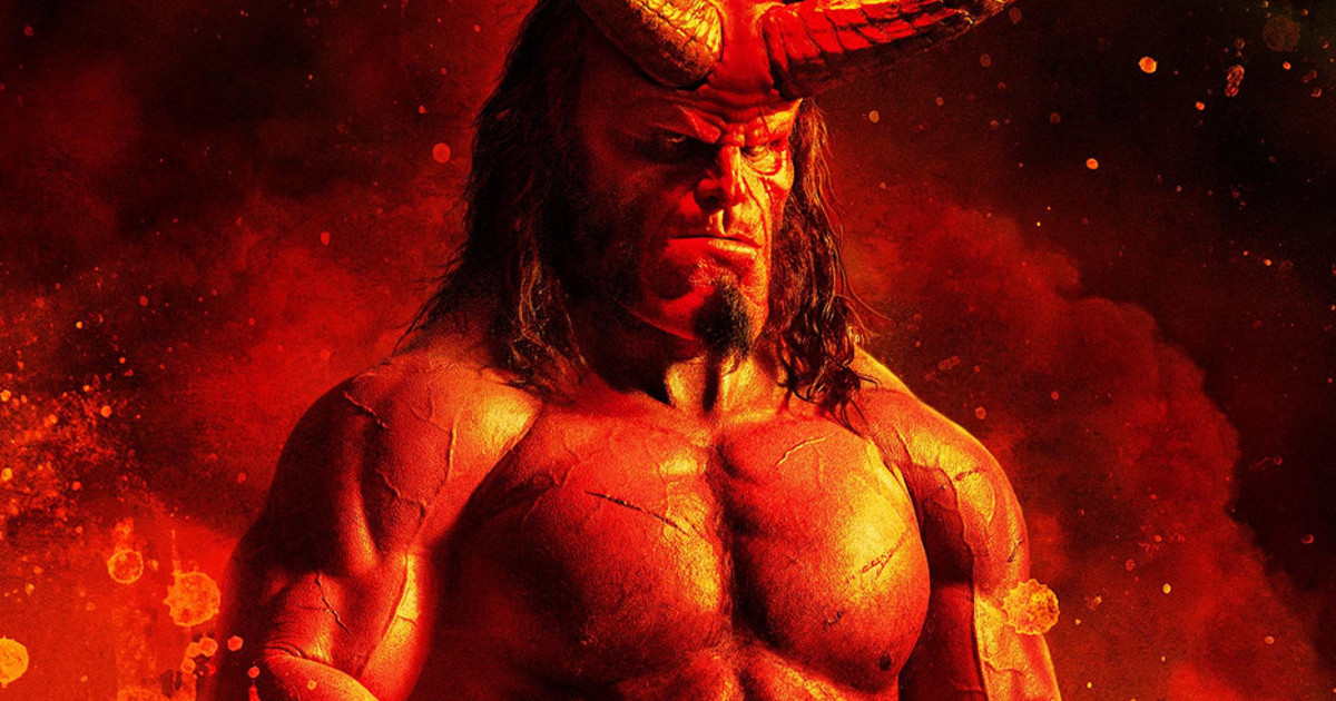 Movie Poster 2019: New Hellboy 2019 Poster Is Weird