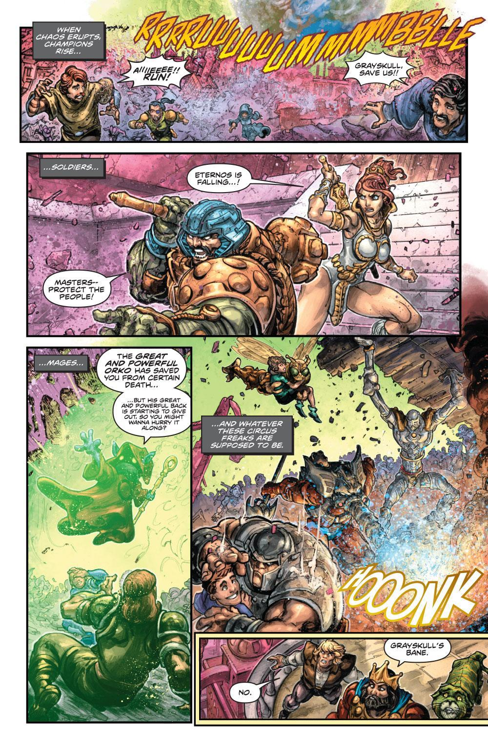 He-Man / Thundercats #1 Preview | Cosmic Book News