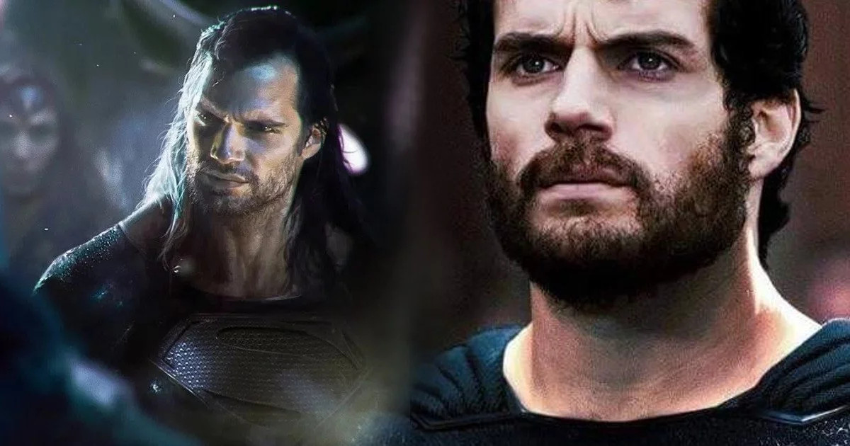 Henry Cavill Teases Black Superman Suit For Justice League & More