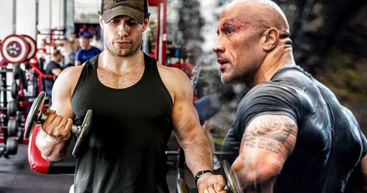 Dwayne Johnson, Henry Cavill MCU marvel