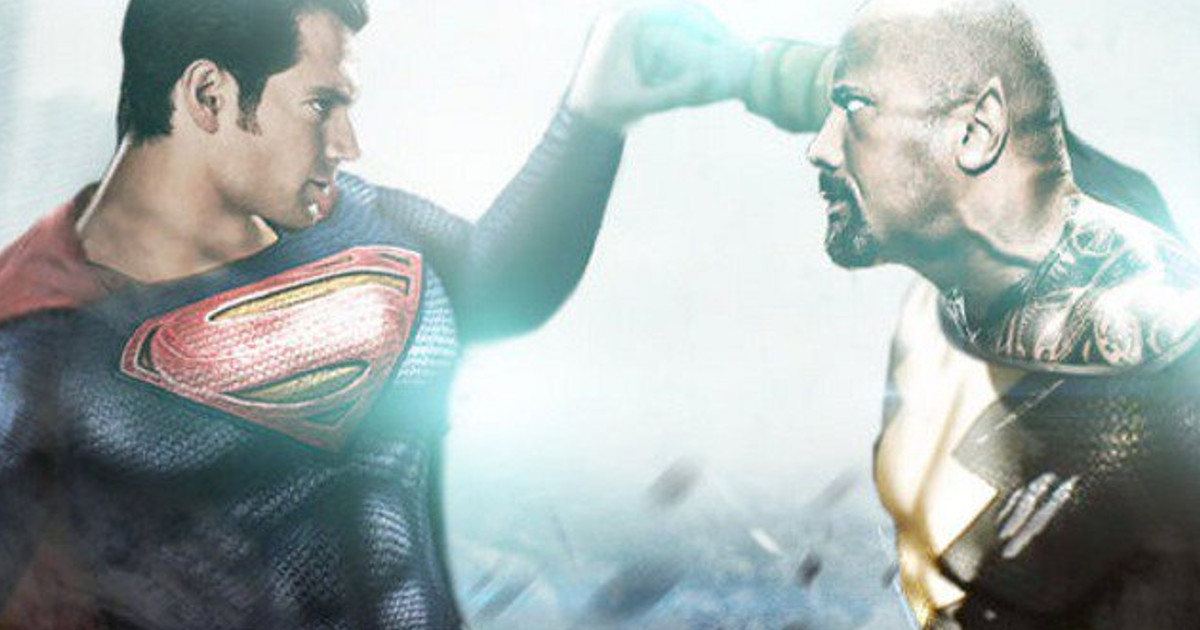 Henry Cavill Superman Rumored For Black Adam 2 With Dwayne Johnson | Cosmic  Book News