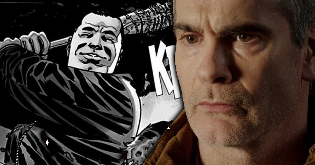 Henry Rollins Auditioned For Negan In The Walking Dead