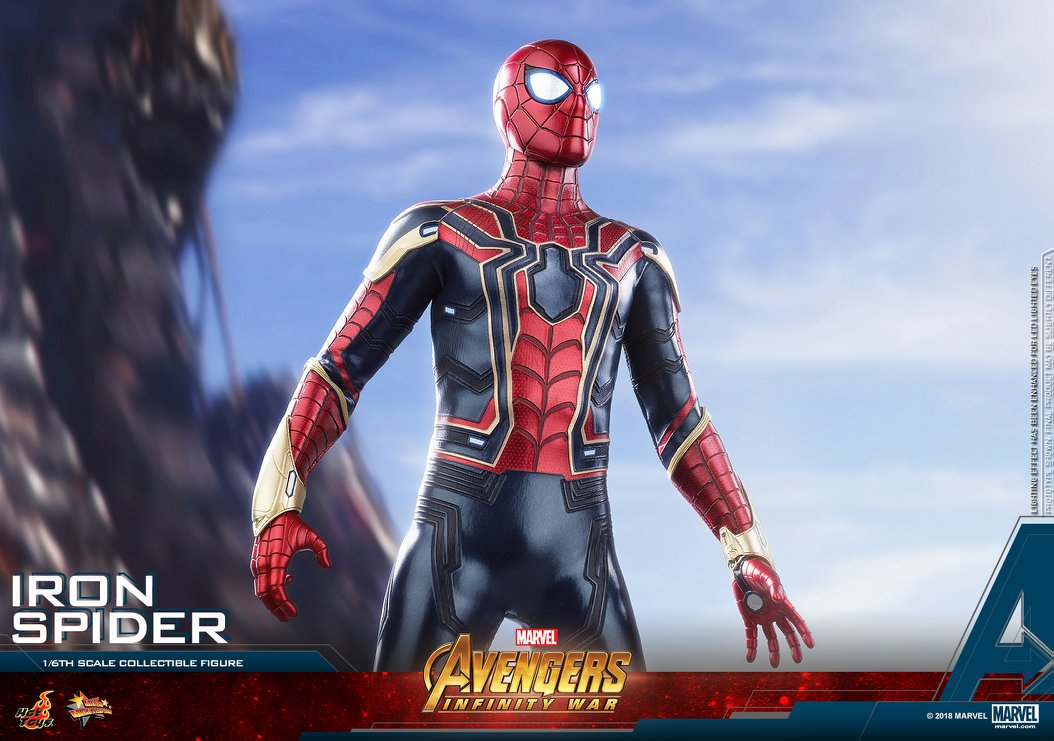 Iron Spider Infinity War Hot Toys Revealed | Cosmic Book News
