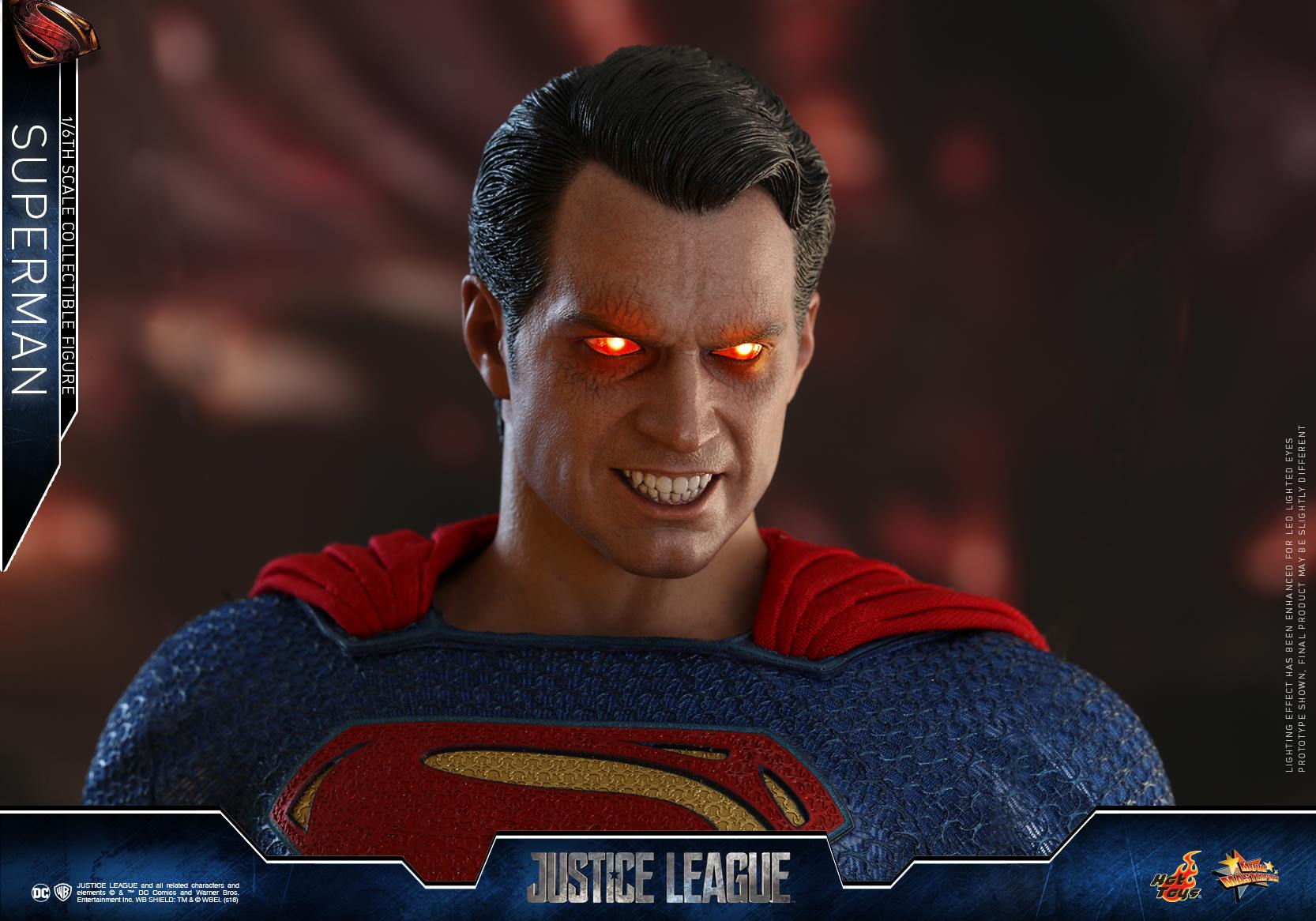 Hot Toys Justice League Superman Henry Cavill