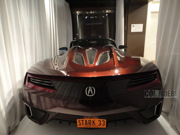 the avengers movie acura super car