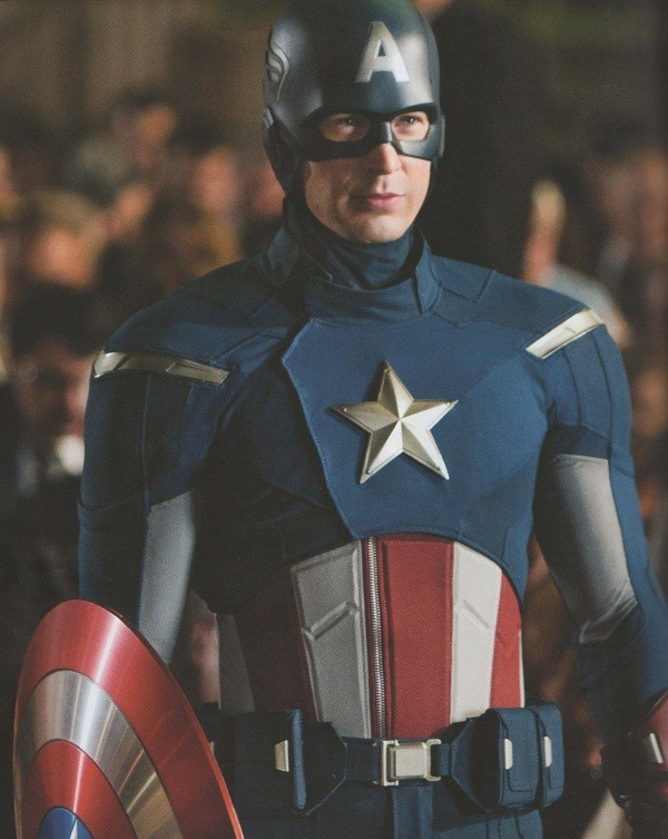 The Avengers Movie Captain America reborn