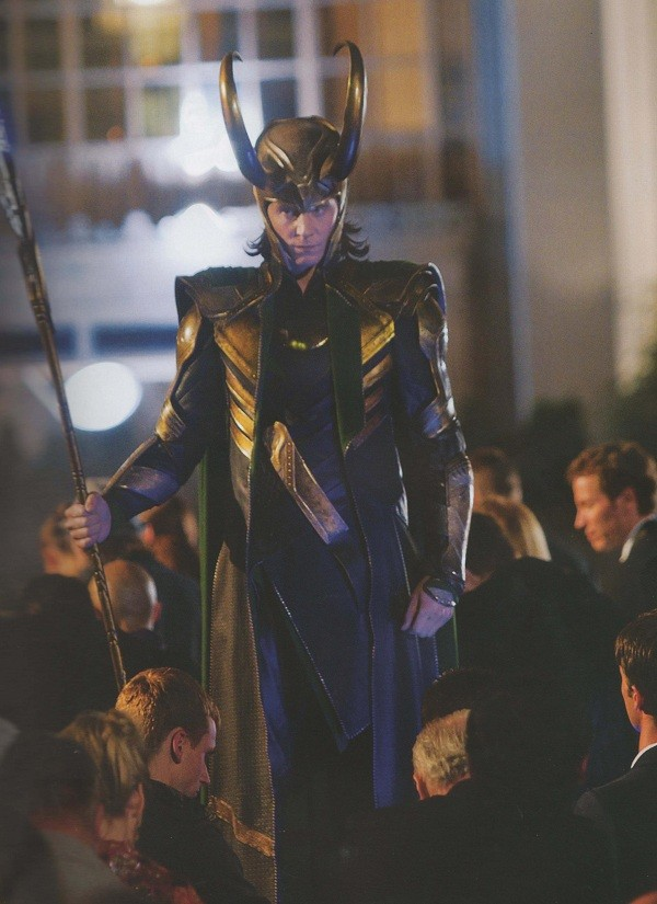 The Avengers Movie Loki