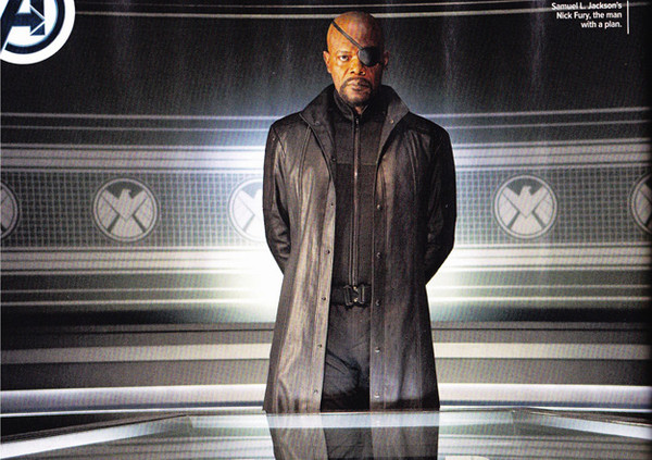 The Avengers Movie Samuel L. Jackson as Nick Fury