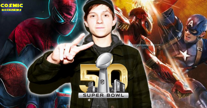 Speculation first look at tom holland spider man could come during