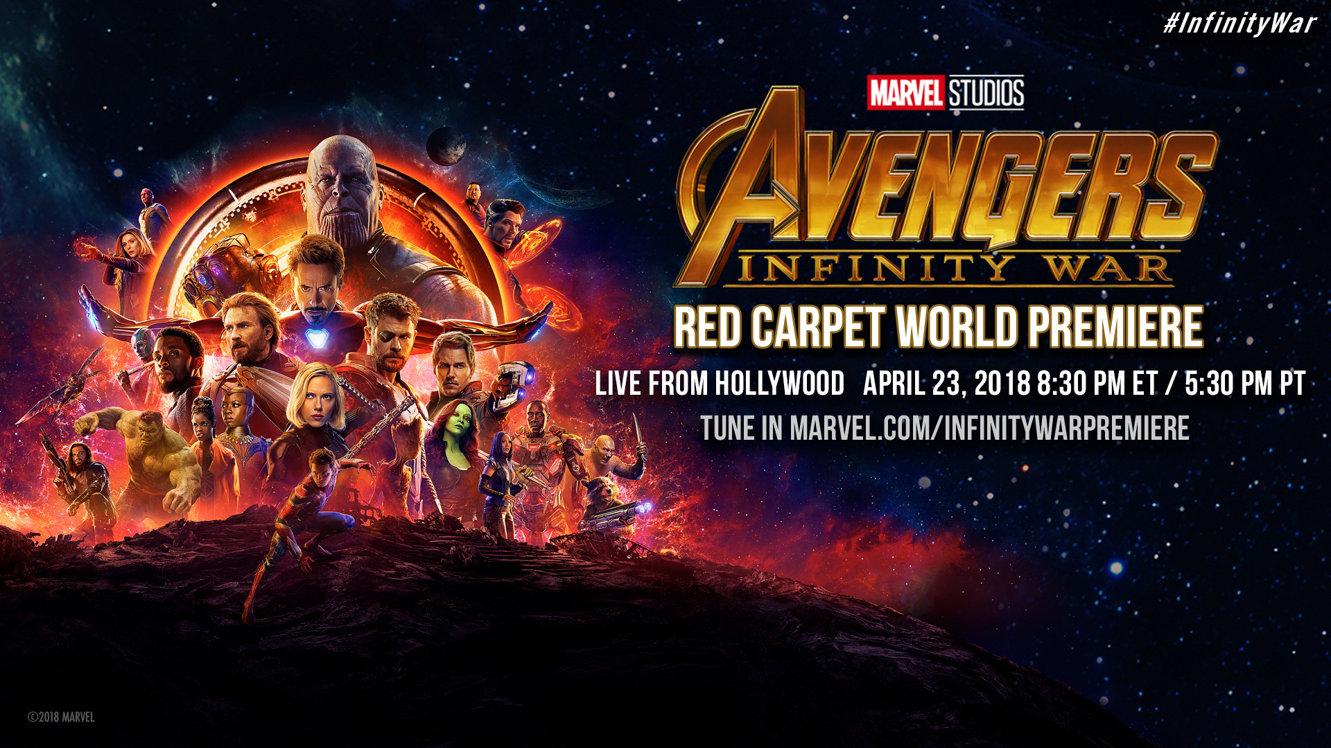 Infinity War Red Carpet Premiere