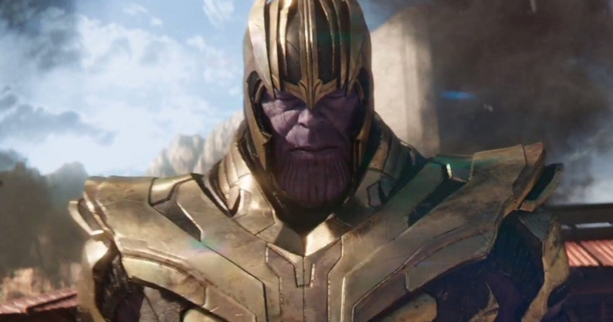 Russo Bros. Share Thanos Poster For Avengers: Infinity War