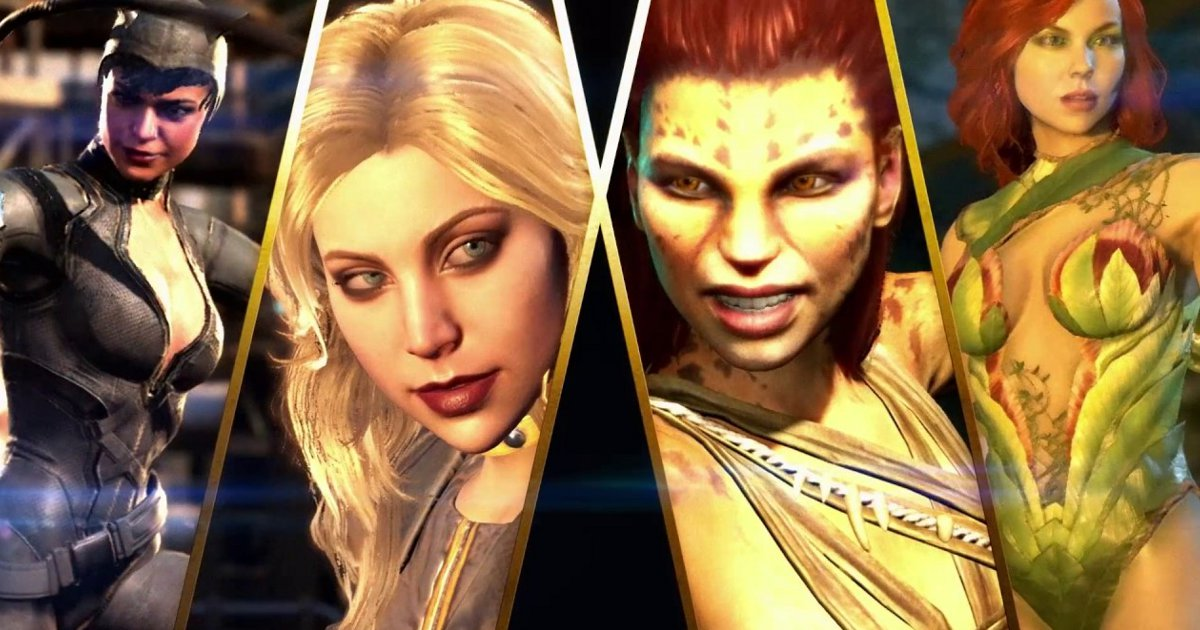Injustice 2's New Trailer Showcases Poison Ivy, Black Canary, Cheetah and Catwoman
