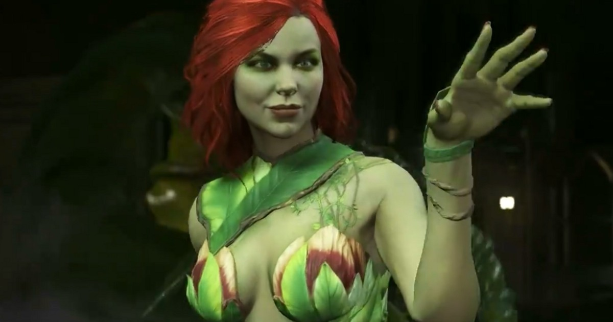 Injustice 2 Showcases Poison Ivy in Another New Trailer