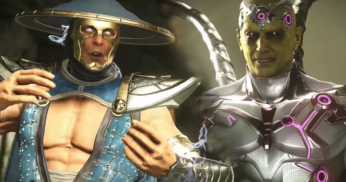 Raiden arrives in Injustice 2