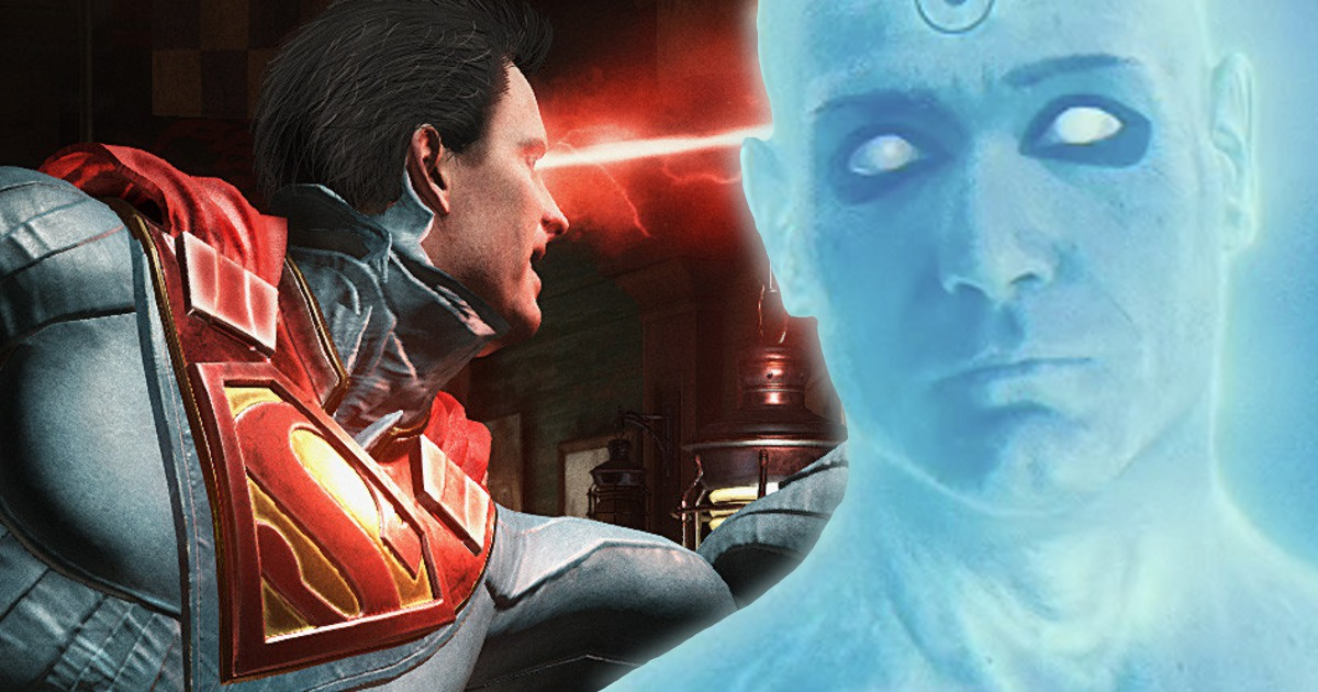 Injustice 2 taking survey for Watchmen characters