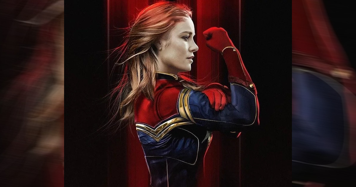 What Brie Larson's Captain Marvel Suit Would Look Like With Classic Colors