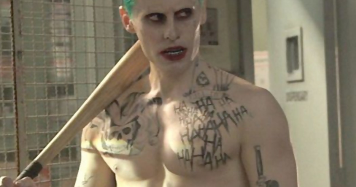Jared Leto Reveals Gold Underwear Joker Scene Cut From Suicide Squad