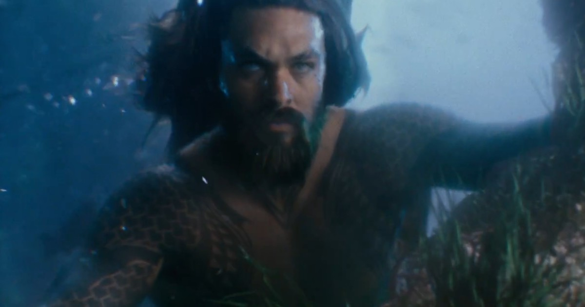 Did Aquaman star Jason Momoa accidentally reveal spoilers for Justice League?