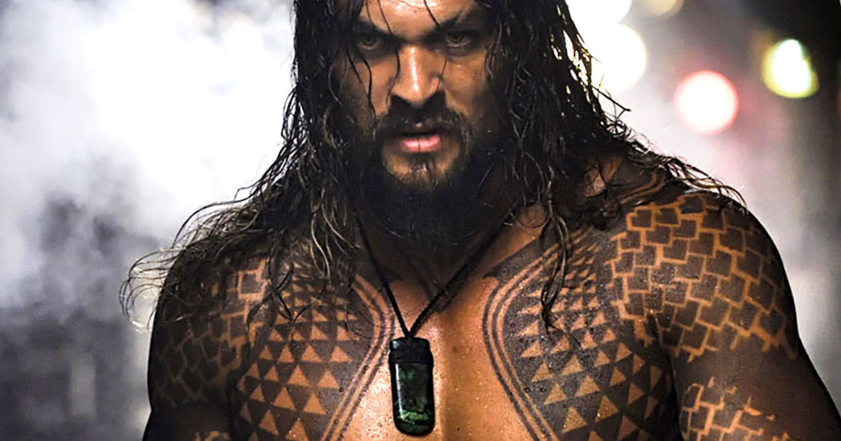 First Official Look At Jason Momoa In Aquaman Movie