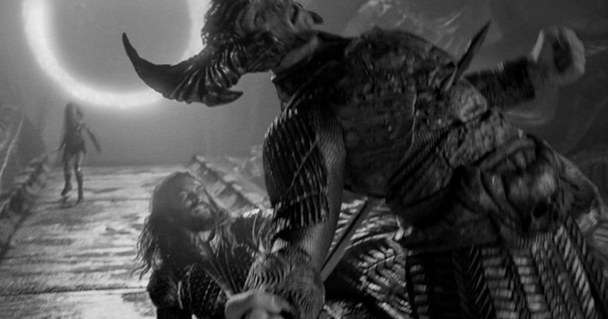 Snyder Cut Jason Momoa vs Steppenwolf