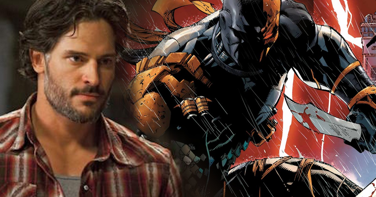 Joe Manganiello Excited For Deathstoke