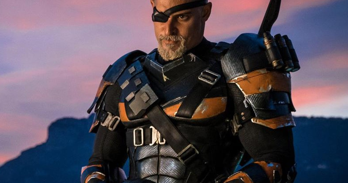 Ben Affleck Batman vs Joe Manganiello Deathstroke