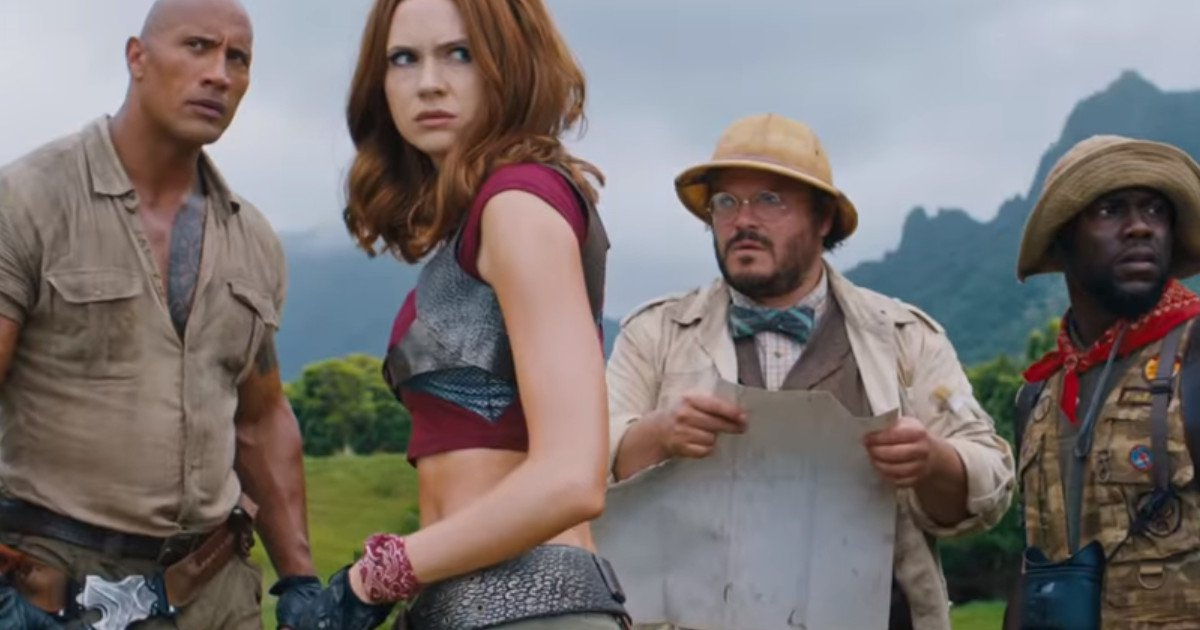 New Jumanji Movie Involves a Magical Video Game Console (Trailer)