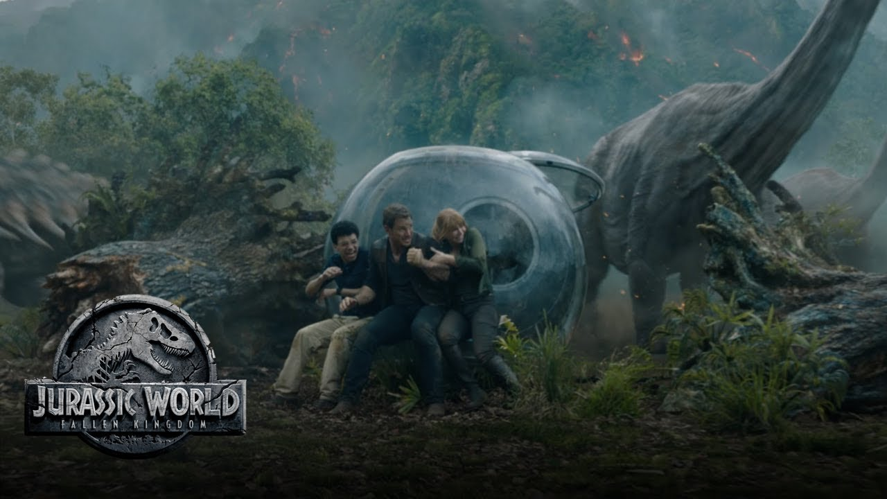 Fallen Kingdom' Trailer Teaser Erupts with Dinosaur Action