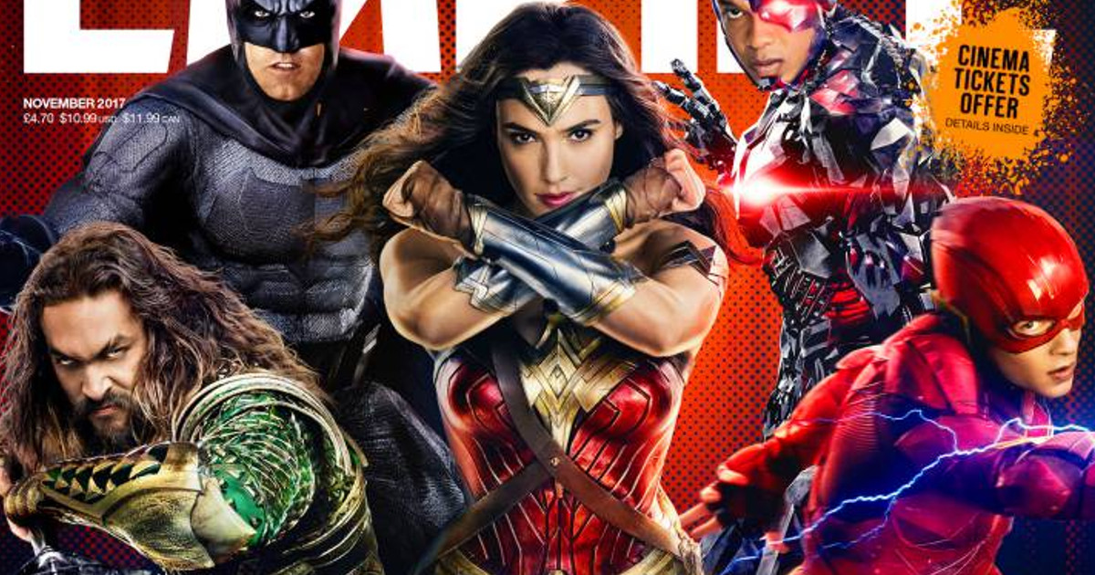 Justice League Empire Magazine