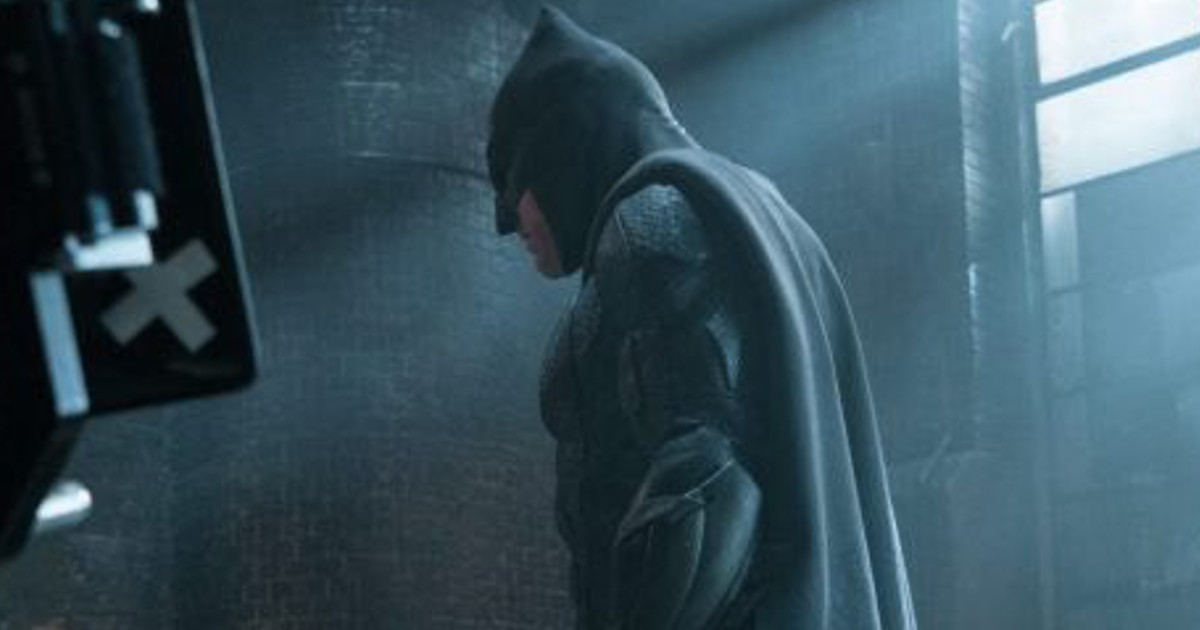 Cool New Look At Batman In Justice League