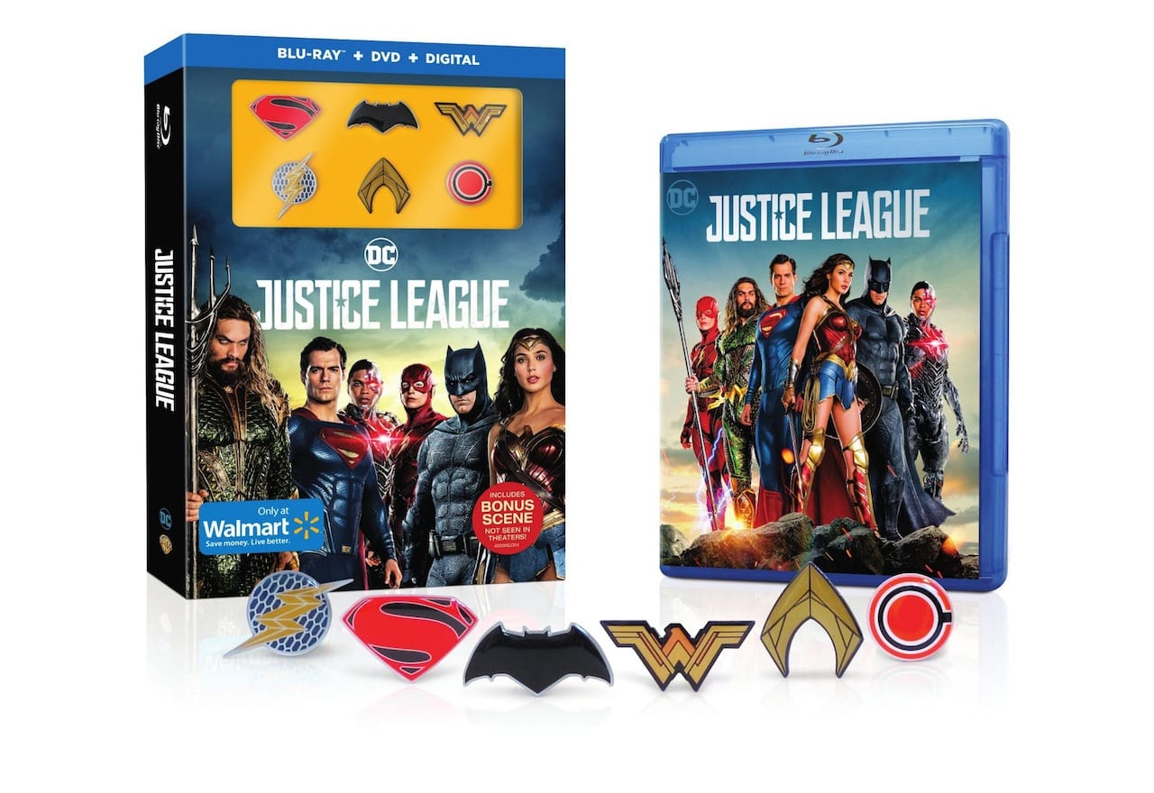 Justice League Blu-Ray Includes Bonus Scene, No Zack Snyder Cut Coming
