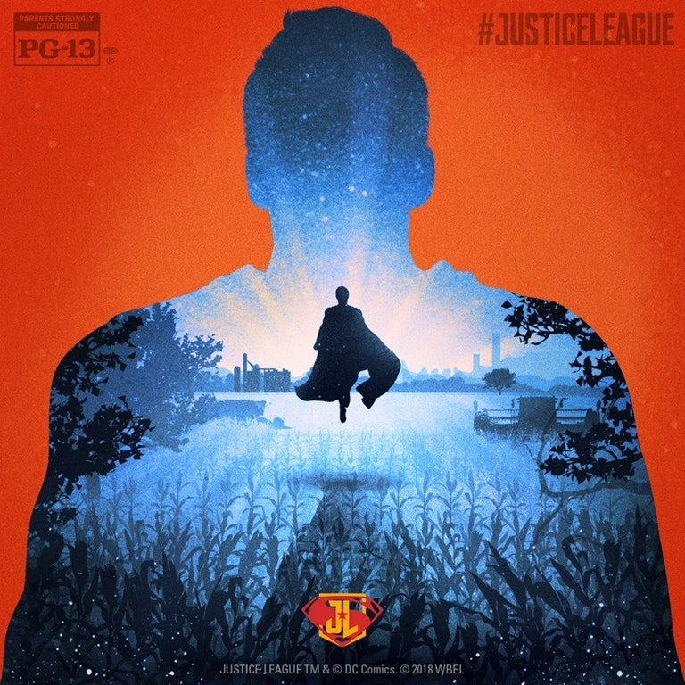 Superman Poster Justice League