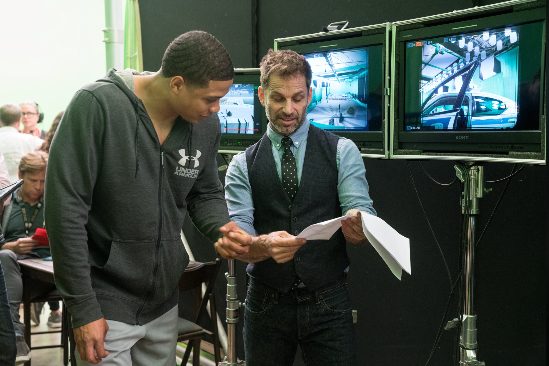 Justice League Zack Snyder Ray Fisher