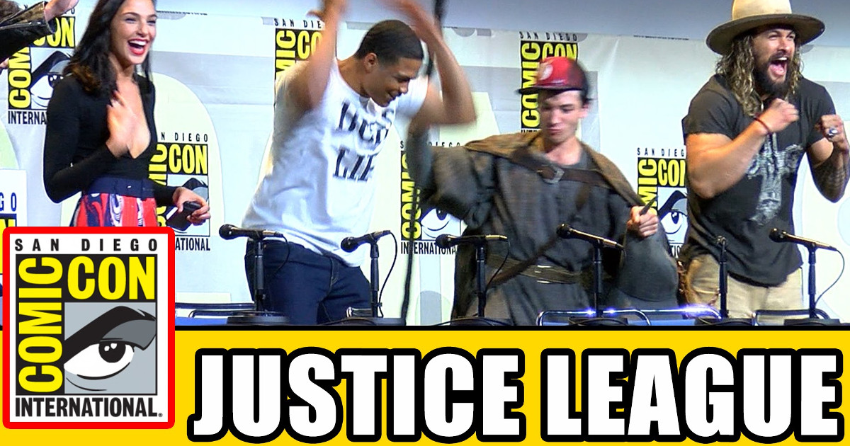 Watch: Justice League Cast At Comic-Con