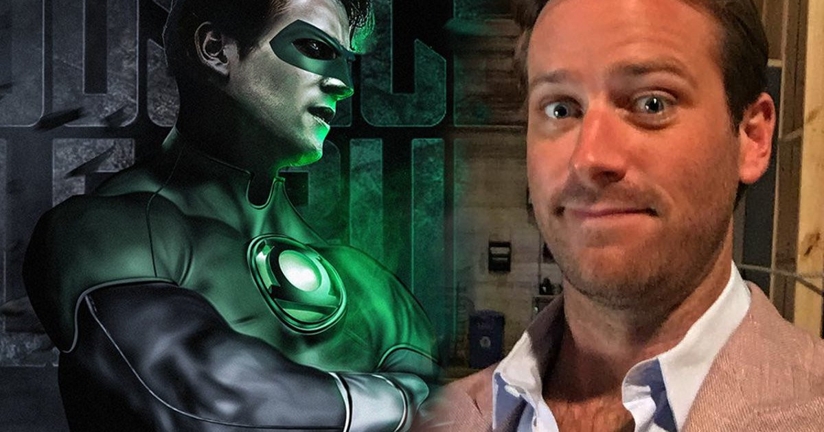 Justice League Cast Green Lantern