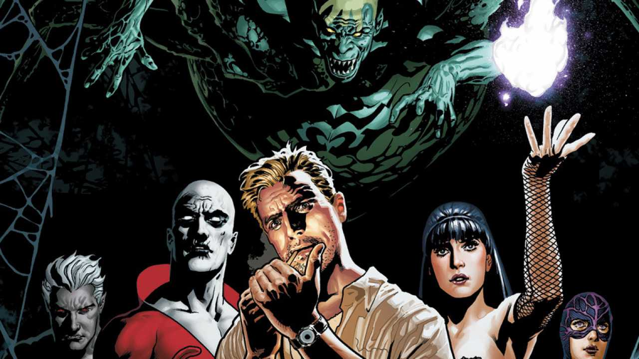 Justice League Dark Concept Art Lands Online