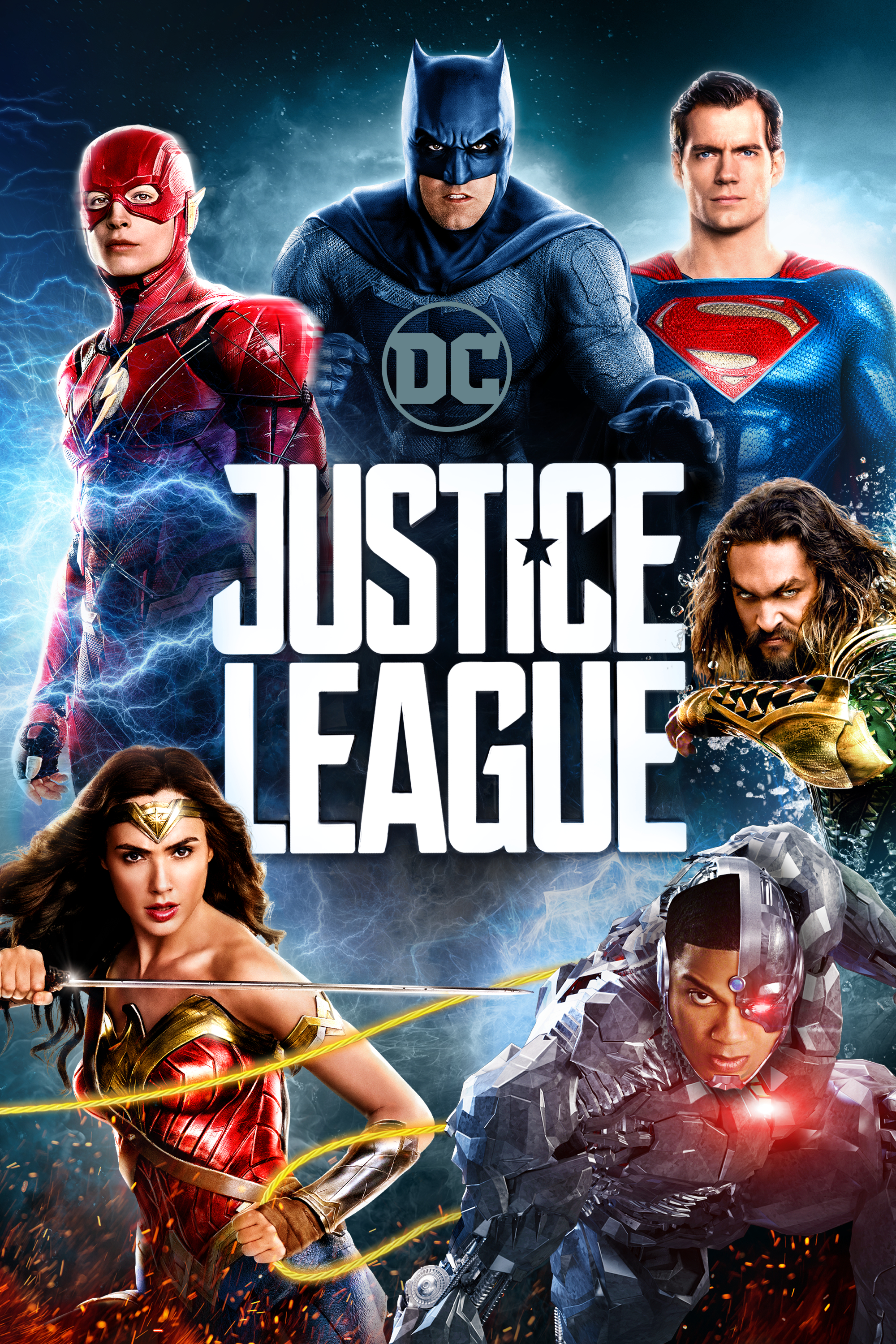 Justice League poster home video Superman
