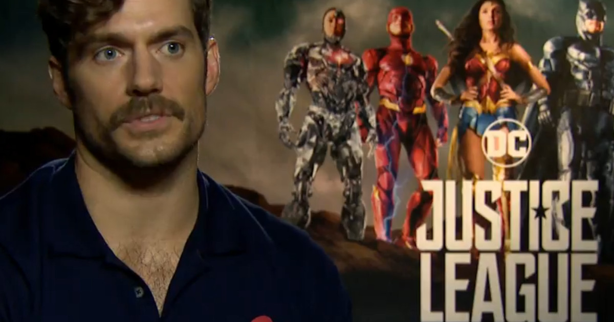 Justice League Superman Henry Cavill WB Interview