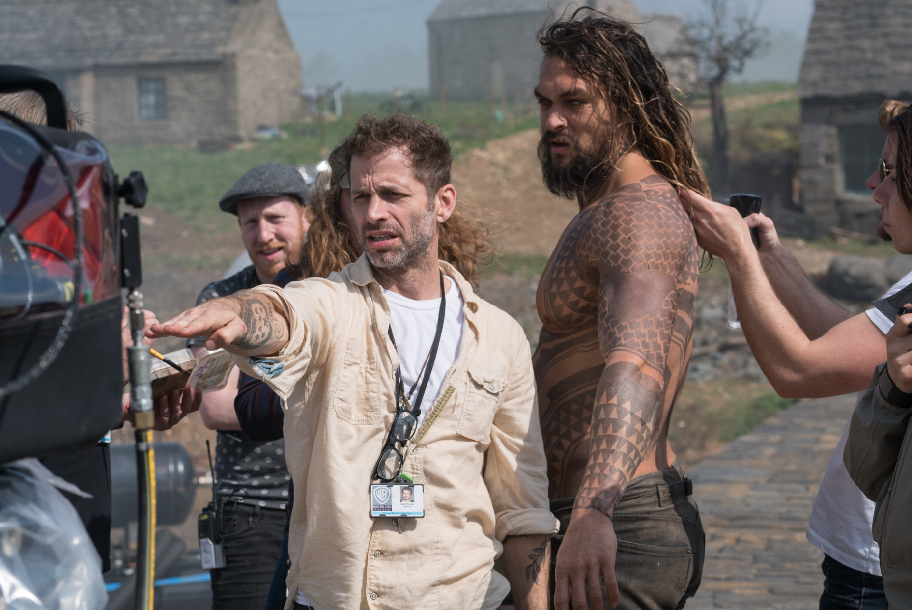Justice League Zack Snyder and Gal Gadot