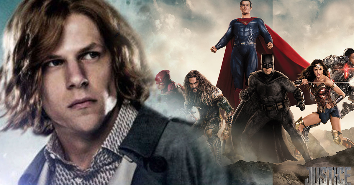 Justice League: Jesse Eisenberg Lex Luthor Said To Be Cut