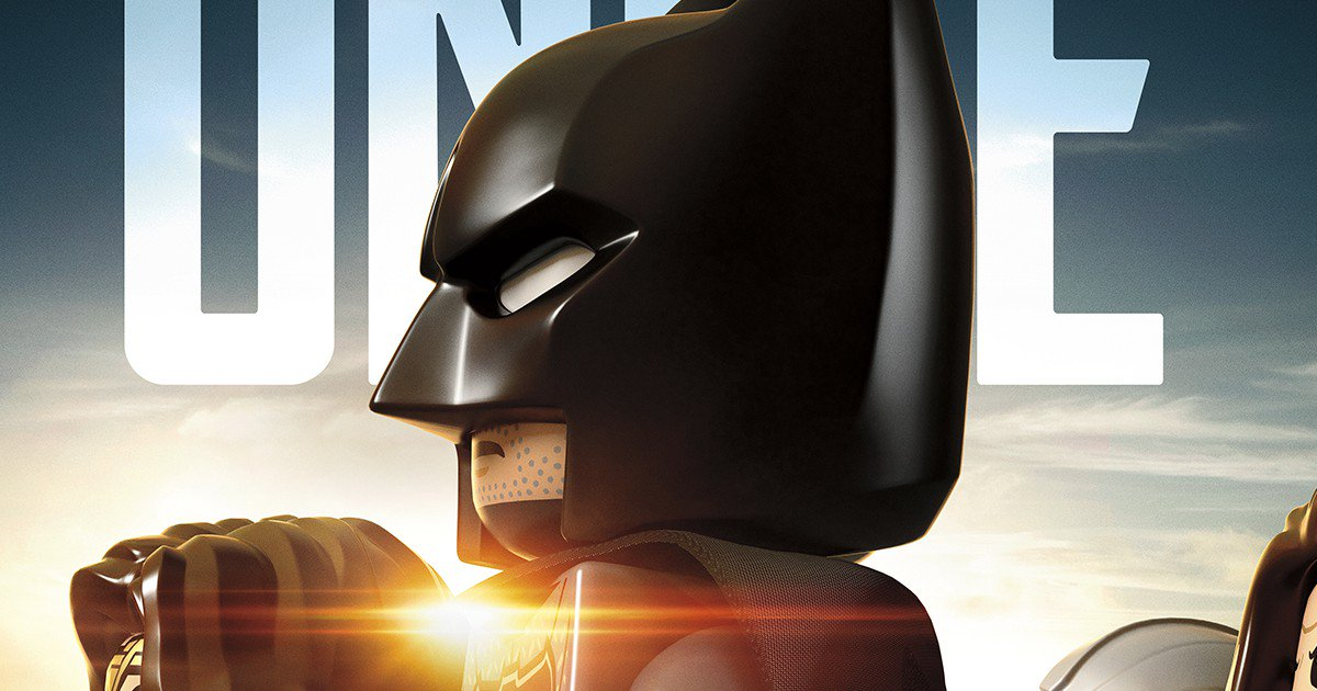 LEGO Justice League Movie Poster