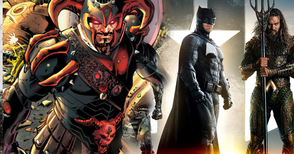 Justice League: Steppenwolf Revealed Through Action Figure