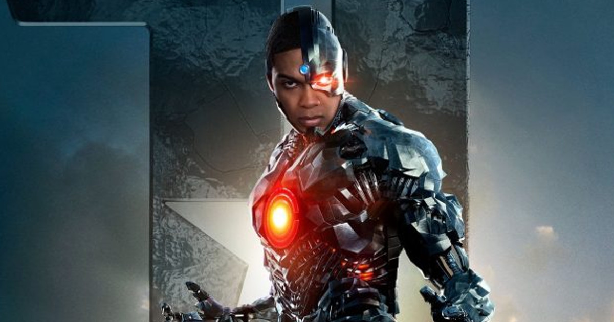 Justice League Ray Fisher Cyborg Promo