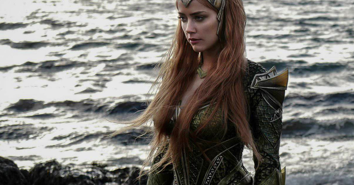 New Justice League Spot Features Amber Heard As Mera